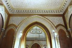 豪华童话宫殿内部 库存图片