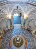 豪华童话宫殿内部 库存照片