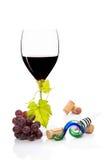 豪华红葡萄酒。 免版税库存照片