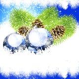 豪华背景圣诞节 免版税库存图片