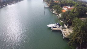 豪华迈阿密海滩家 股票录像
