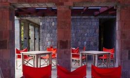 豪华金黄岩石旅馆在尼维斯岛的加勒比岛 免版税库存图片