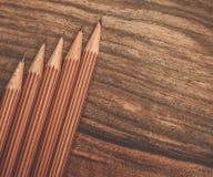 豪华活性炭铅笔 免版税图库摄影