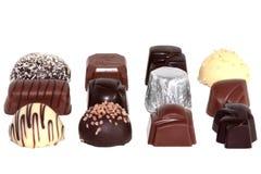豪华3的巧克力 免版税库存图片