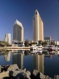 豪华4家港口的旅馆 库存照片