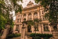 豪宅在伦敦 免版税图库摄影