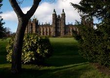 豪宅在爱丁堡,苏格兰 免版税库存图片