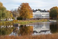 豪宅在瑞典。 免版税库存图片