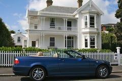 豪宅,新西兰 免版税库存图片