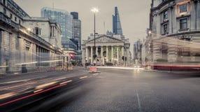 豪宅,银行,伦敦 图库摄影