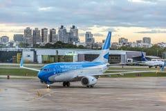 豪尔赫Newbery机场,阿根廷 图库摄影