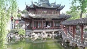 豫园Shangchang历史architetrical 股票视频
