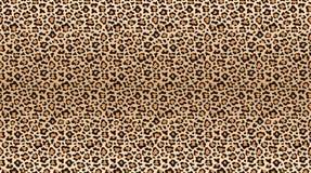 豹子印刷品样式 豹子皮肤的无缝的样式 时兴的猎豹毛皮纹理 向量例证