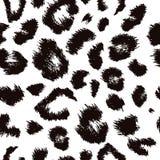 豹子印刷品样式 重复无缝的传染媒介 皇族释放例证