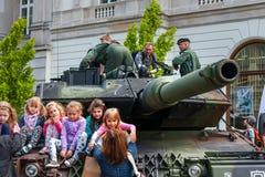 2豹子牌坦克 库存图片