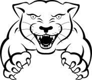 豹纹身花刺 免版税库存图片