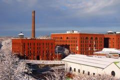 贝克` s巧克力工厂 库存照片