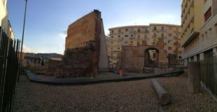 贝内文托-考古学区域概要 免版税库存图片