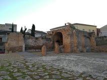 贝内文托-考古学区域的瞥见 库存照片