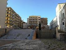 贝内文托- Arco del萨加门多的考古学区域 免版税库存照片