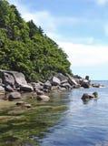 贝加尔湖海岸湖 库存照片