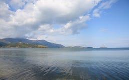 贝加尔湖湖 库存图片