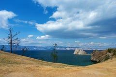 贝加尔湖的Olkhon海岛在夏天 库存照片