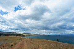 贝加尔湖的Olkhon海岛在夏天 库存图片