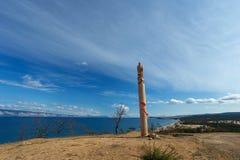 贝加尔湖的Olkhon海岛在夏天 图库摄影