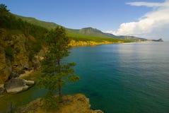 贝加尔湖露天场所 免版税库存图片