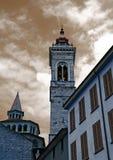 贝加莫教会 免版税图库摄影