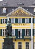 贝多芬雕象在波恩,德国。 免版税图库摄影