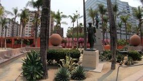 贝多芬雕象LA 影视素材