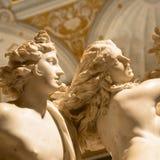 贝尔尼尼雕象:阿波罗e Dafne阿波罗和达芬妮 免版税库存图片