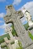 贝尔法斯特爱尔兰语墓碑的小山 免版税库存图片