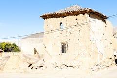 贝尔蒙特德坎波斯,卡斯蒂利亚-莱昂,西班牙 免版税库存图片