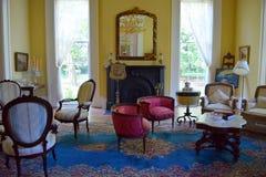 贝尔蒙特战前种植园夫人退息室 免版税库存照片