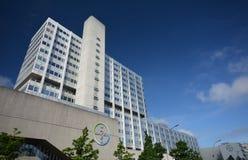 贝尔贝尔医疗保健配药AG Pharma,管理和实验室大厦在柏林,德国 免版税库存照片