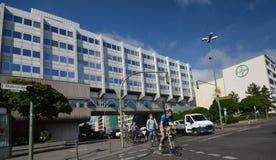 贝尔贝尔医疗保健配药AG Pharma,管理和实验室大厦在柏林,德国 免版税库存图片