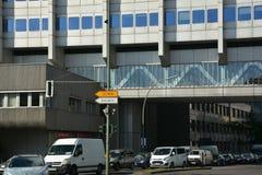 贝尔贝尔医疗保健配药AG Pharma,管理和实验室大厦在柏林,德国 库存照片