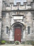 贝得福得城堡关闭都伯林genelogical办公室耸立 库存图片