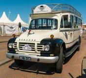 贝得福得老朋友公共汽车每年全国老朋友天在莱利斯塔德 免版税图库摄影