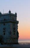 贝拉母塔在里斯本,葡萄牙 图库摄影