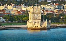 贝拉母塔在里斯本 库存照片