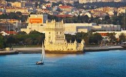 贝拉母塔在里斯本 免版税库存图片