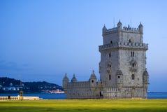 贝拉母de里斯本torre 免版税库存照片
