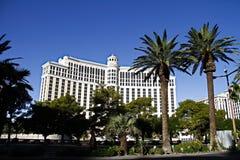 贝拉焦旅馆在拉斯维加斯 免版税图库摄影