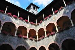 贝林佐纳大厅瑞士城镇 免版税图库摄影