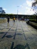 贝洛奥里藏特公交车站 图库摄影