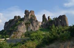 贝洛格拉奇克岩石,堡垒,保加利亚, 库存例证